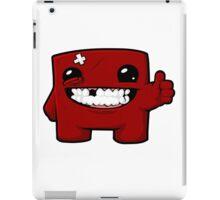 Super meat boy  iPad Case/Skin