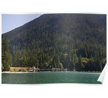 Lake Mills and Glines Canyon Dam Poster