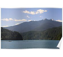 Lake Mills, Olympic National Park, Washington Poster
