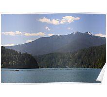 Lake Mills, Olympic National Park, Washington Poster