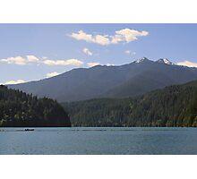 Lake Mills, Olympic National Park, Washington Photographic Print