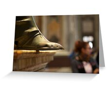 The Foot of St. Peter Greeting Card