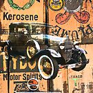 Vintage automobile montage. by Fizzgig7