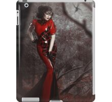 Red Widow iPad Case/Skin