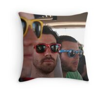 Ray Ban Man Throw Pillow