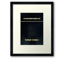 Doctor Who - Tears Of An Angel Framed Print