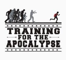 Apocalypse Training (Black) by heythisisbutt