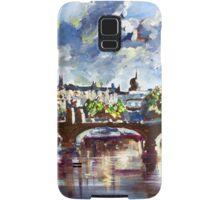 Prague in springtime Samsung Galaxy Case/Skin