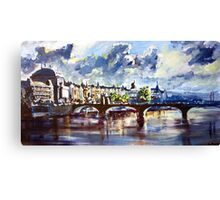 Prague in springtime Canvas Print