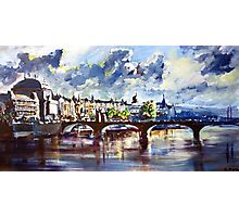 Prague in springtime Photographic Print