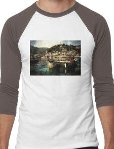 Portofino Harbor Men's Baseball ¾ T-Shirt