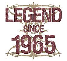 Legend Since 1965 Photographic Print