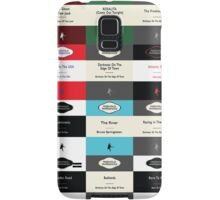 BOSS TOP 12 SONGS RETRO PAPERBACK COVERS Samsung Galaxy Case/Skin