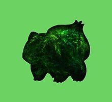 Bulbasaur & Forest by BenH4