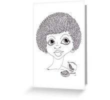 Nutmeg Greeting Card