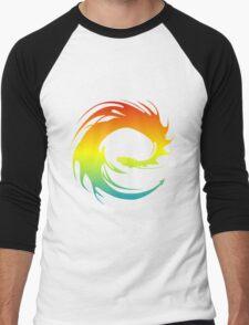 Colorful Eragon Men's Baseball ¾ T-Shirt