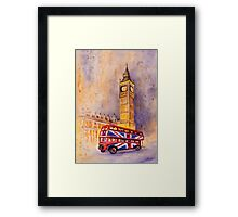 London Authentic Framed Print