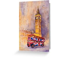 London Authentic Greeting Card