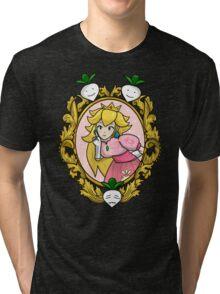 Princess Peach Melee Taunt Design Tri-blend T-Shirt