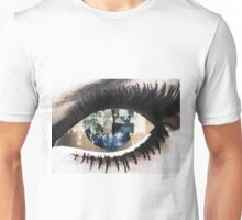 Eye with New York City Reflection Unisex T-Shirt