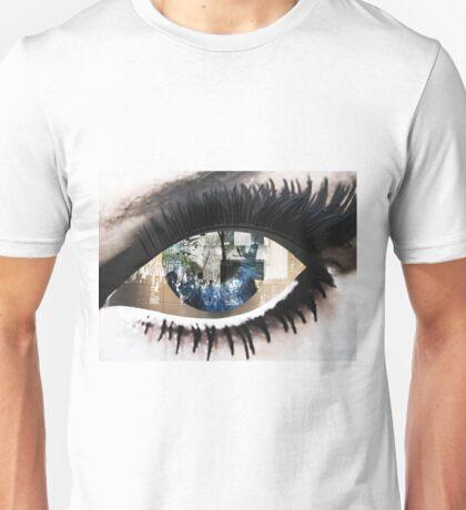 Eye with New York City Reflection Unisex T-Shirt