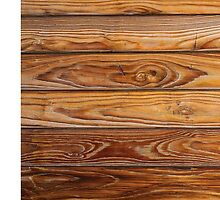 Wood grain pattern cover on the phone by Rostislav Bouda