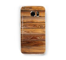 Wood grain pattern cover on the phone Samsung Galaxy Case/Skin