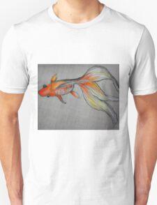 Goldfish Pond (close up #6) Unisex T-Shirt