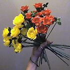 Origami Mini Roses; Original Fold; Made in the USA by gadnynj