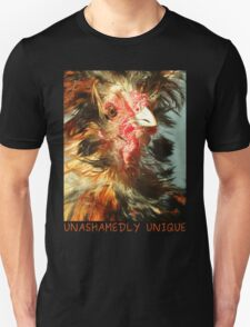 Spike the Firebird - Frizzled Polish Rooster Unisex T-Shirt