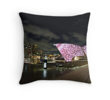 Circular Quay - Vivid Sydney Throw Pillow