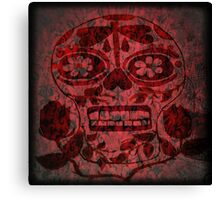 Day of Dead Skull Canvas Print