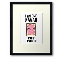Kawaii PopTart Framed Print