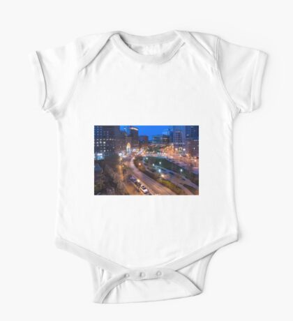 Early morning in Boston One Piece - Short Sleeve