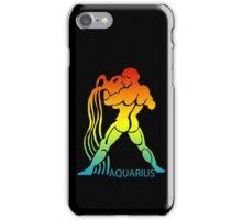 Colorful Zodiac sign - Aquarius iPhone Case/Skin