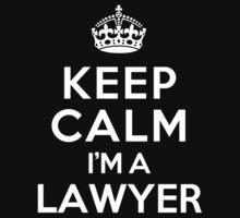Keep Calm I'm a Lawyer Kids Clothes