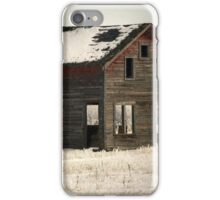 Alone on the Stark Prairie iPhone Case/Skin