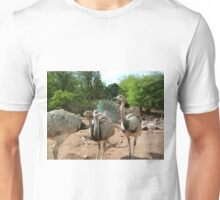 Emu like my new tail? Unisex T-Shirt