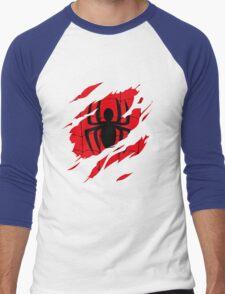 Secret Identity: Spider Man Men's Baseball ¾ T-Shirt