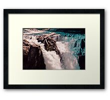 ABOVE THE FALLS Framed Print