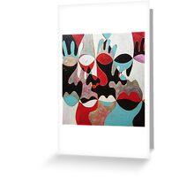 carneval Greeting Card
