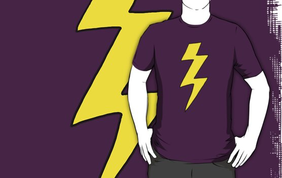 Scott Pilgrim VS the World - lightning bolt shirt by ptelling
