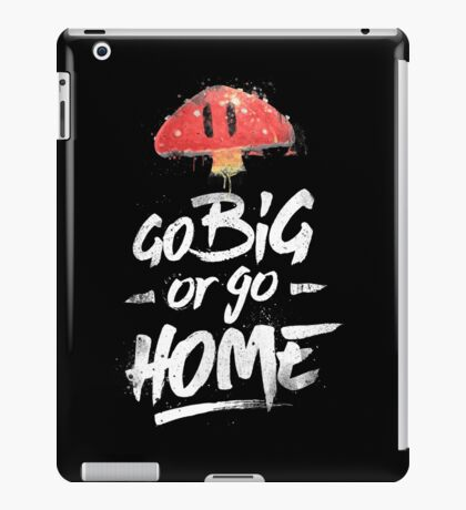 Super Mario Brothers Inspired Smash Type Art iPad Case/Skin
