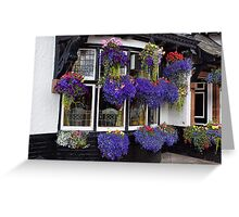 Hanging Baskets Greeting Card