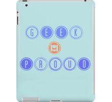 GEEK & PROUD iPad Case/Skin