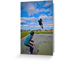 Catch me if you can!!!! Greeting Card