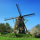 Dutch windmill I by Alexander Kok