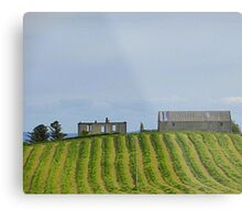 The Ploughed Field Metal Print