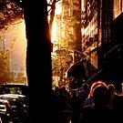 Urban sunset by Alexander Kok