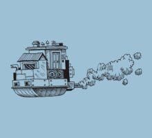 Sky Ship (Black) by Anthony Woodward